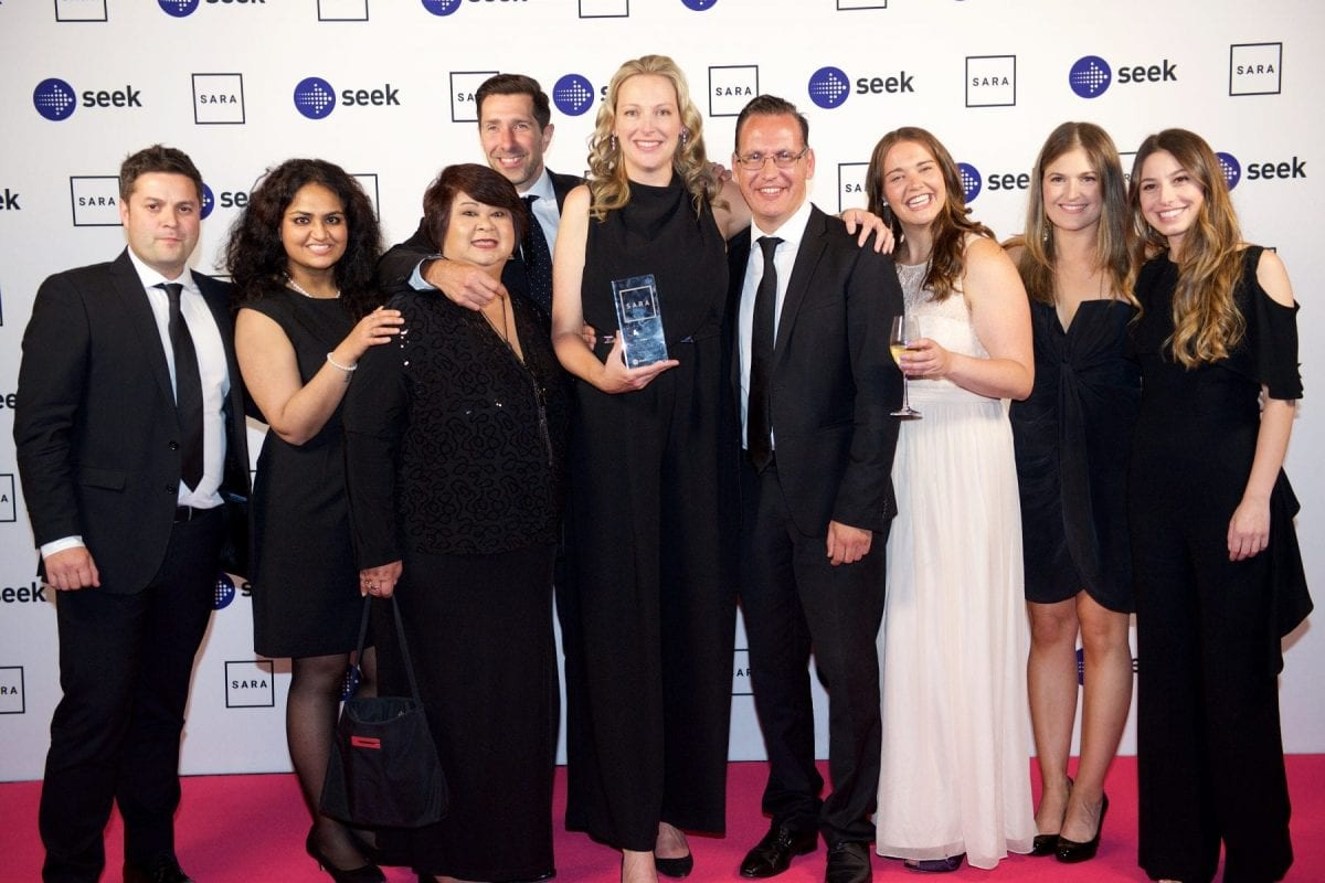2018 SEEK SARA Winners - Medium Recruitment Agency of the Year